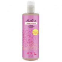 Alana Pink Rose & Vanilla Natural Body Wash 400ml