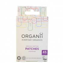 Organii Organic Cotton Plasters 45 pieces Mixed Sizes