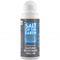 Salt of the earth Pure Armour Explorer Roll-On Deodorant 75ml