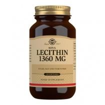 Solgar Soya Lecithin 1360 mg Softgels - Pack of 250
