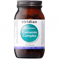 Viridian High Potency Curcumin Complex Veg Caps 90caps