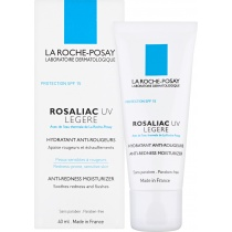 La Roche-Posay Rosaliac UV Legere Fortifying Anti-Redness Moisturiser SPF15, 40ml