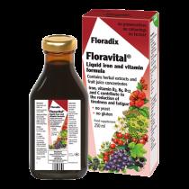 Floradix Floravital Yeast & gluten free liquid iron formula 500ml