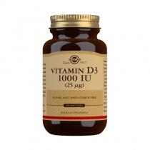 Solgar Vitamin D3 1000 IU (25 µg) Softgels - Pack of 250