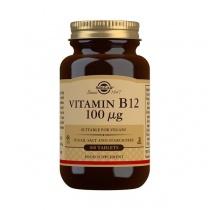 Solgar Vitamin B12 100 mcg Tablets - Pack of 100