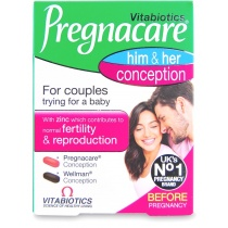 Vitabiotics Pregnacare His & Her 60 Tablets