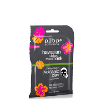 Alba Botanica Hawaiian Detox Clay Detoxifying Sheet Mask (single)