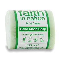 Faith in Nature Aloe Vera Soap 100g x 18