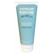 Australian Bodycare Tea Tree Oil Exfoliating Body Wash 200ml