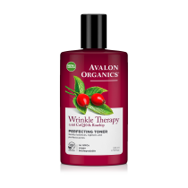 Avalon Organics Wrinkle Therapy with CoQ10 & Rosehip Perfecting Toner 230ml