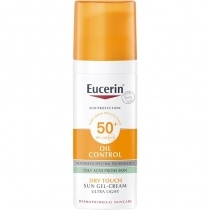 Eucerin Oil Control Sun Gel-Cream Dry Touch SPF50+, 50ml