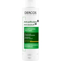 Vichy Dercos Anti-Dandruff Advanced Action Shampoo for Itchy Scalp, Dry Hair 200ml
