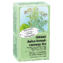 Floradix Anise Fennel & Caraway Organic Herbal Tea 15 filterbags