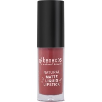 Benecos Natural Matte Liquid Lipstick Trust in Rust 5ml