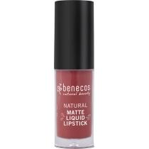 Benecos Natural Matte Liquid Lipstick Trust in Rust 5ml