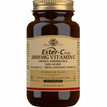 Solgar Ester-C Plus 1000 mg Vitamin C Tablets - Pack of 180