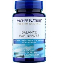 Higher Nature Balance for Nerves 30caps