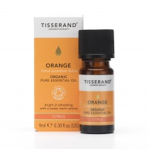 Tisserand Orange Organic Essential Oil 9ml