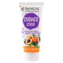 Benecos Shower Scrub Apricot and Elderflower 200ml
