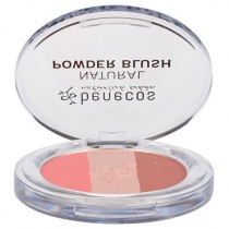Benecos NATURAL POWDER BLUSH - Trio - Fall in Love - 5g