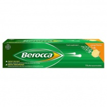 Berocca Effervescent Orange 15 tabs