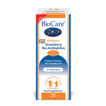 BioCare Children's Strawberry Bio-Acidophilus 60g