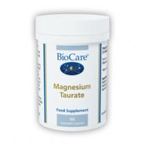 Biocare Magnesium Taurate 915mg 60 Veg Capsules