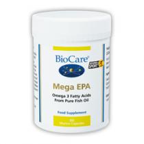 Biocare Mega EPA (Omega-3 Fish Oil) 1000 60 Capsules