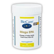 Biocare Mega E.P.A (Omega-3 Fish Oil) 1000 90 Capsules