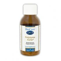 Biocare Polyzyme Forte (Enzyme Complex) 30 Veg Caps