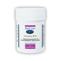 Biocare Vitamin B12 30 Veg Capsules
