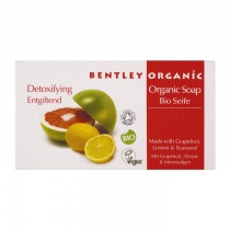 Bentley Organic Detoxifying Soap Bar with Grapefruit, Lemon and Seaweed 150g