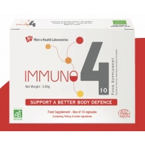 Immuno 4 Support A Better Body Defence - 10 Capsules