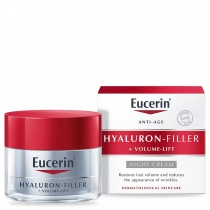 Eucerin Hyaluron-Filler + Volume-Lift Night Cream 50ml