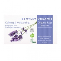 Bentley Organic Calming and Moisturising Soap Bar with Lavender, Aloe and Jojoba 150g