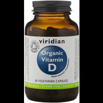 Viridian Organic Vitamin D2 400IU Veg Caps 60caps