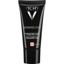 Vichy Dermablend Corrective Fluid Foundation 05 Porcelain 30ml