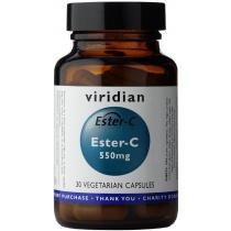 Viridian Ester-C 550mg Veg Caps 30caps
