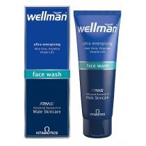 Vitabiotics Wellman face wash 125ml