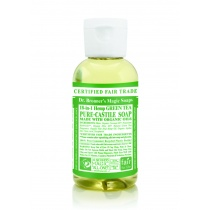 Dr.Bronner's Castille Green Tea Liquid Soap 59ml