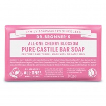 Dr.Bronner's Organic Bar Soap Cherry Blossom 140g