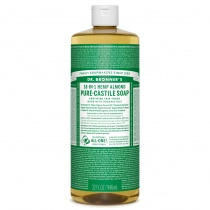 Dr.Bronner's Castille Almond Organic Liquid Soap 946ml