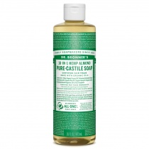 Dr.Bronner's Castille Almond Organic Liquid Soap 472ml