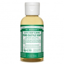 Dr.Bronner's Castille Almond Liquid Soap 59ml