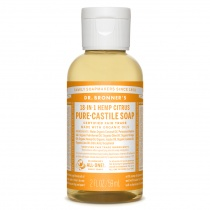 Dr.Bronner's Castille Citrus Liquid Soap 59ml