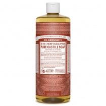 Dr.Bronner's Castille Eucalyptus Organic Liquid Soap 946ml