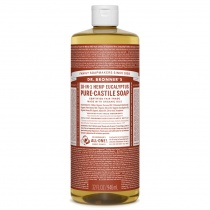 Dr.Bronner's Castille Eucalyptus Organic Liquid Soap 1 litre