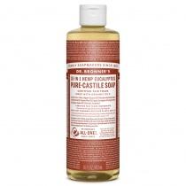Dr.Bronner's Castille Eucalyptus Organic Liquid Soap 473ml