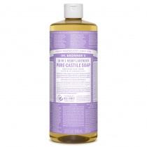Dr.Bronner's Castille Lavender Organic Liquid Soap 1 litre