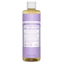 Dr.Bronner's Castille Lavender Organic Liquid Soap 473ml